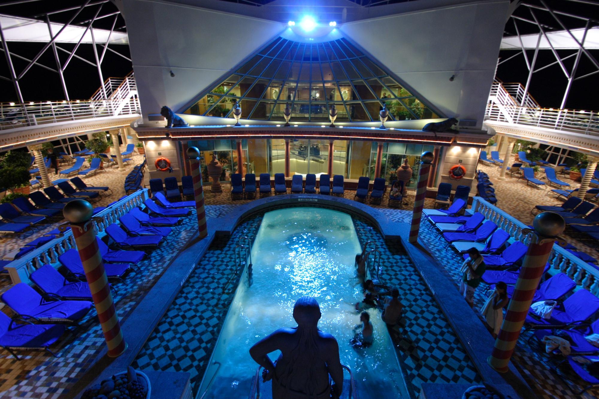Mariner Of The Seas Solarium Mrd Lighting